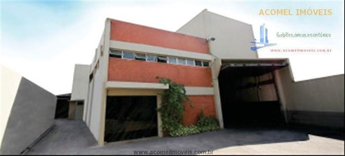 Imagem 1 de 18 de Galpões Para Alugar  Em São Paulo/sp - Alugue O Seu Galpões Aqui! - 1466667