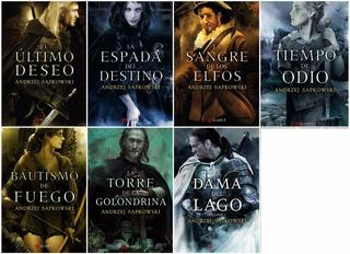 Pack Saga Geralt De Rivia (the Witcher) 7 Libros