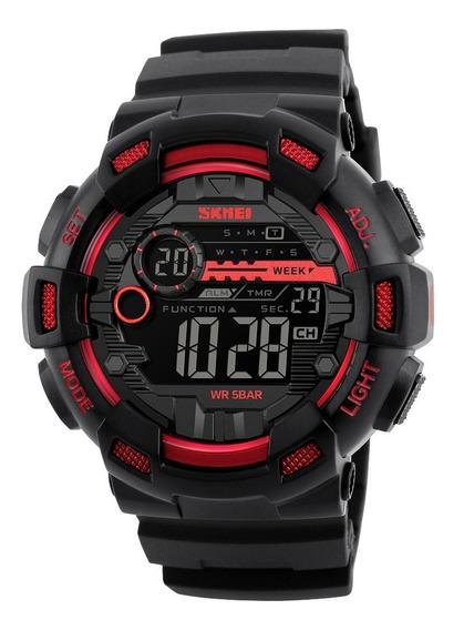 Reloj Skmei Para Hombre Digital Deportivo Militar Retro 1243