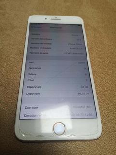 iPhone 7 Plus 32gb Dorado Un Solo Dueño Libre De Todo En Muy