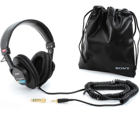 Fone Sony Mdr-7506 Profissional Oferta World Of Music