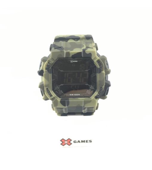 Relógio De Pulso Mormaii Camuflado Ref:xgppd142