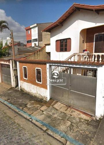 Casa Com 2 Dormitórios À Venda, 130 M² Por R$ 380.000,10 - Vila Lucinda - Santo André/sp - Ca1133