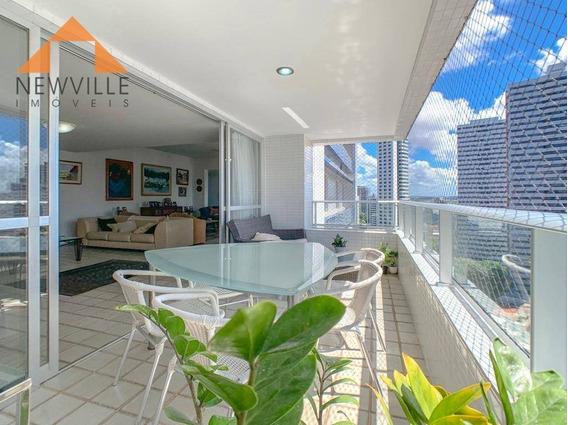 Apartamento Com 4 Quartos À Venda, 668 M² Por R$ 1.400.000 - Casa Forte - Recife/pe - Ap2101
