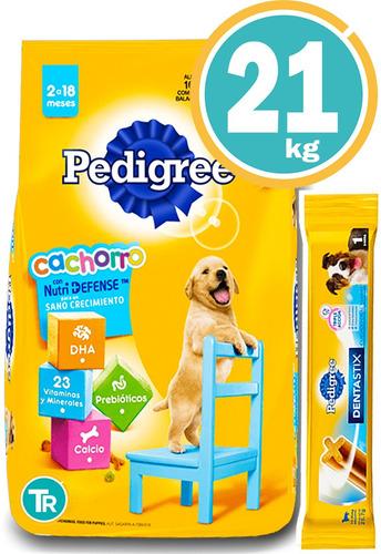Pedigree Perros Cachorros 22,5 Kg + Dentastix Y Envío