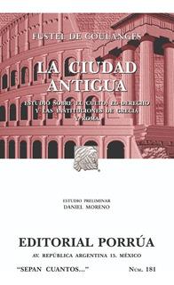La Ciudad Antigua Libro De Historia Grecia Y Roma Porrua Mex