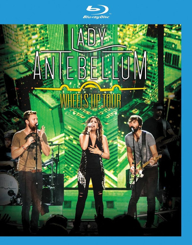 Lady Antebellum Weels Up Tour Blu-ray Import.nuevo En Stock