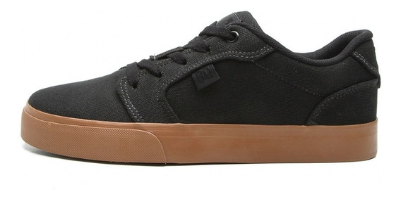 Tenis Dc Shoes Anvil Tx La Preto/caramelo 320040
