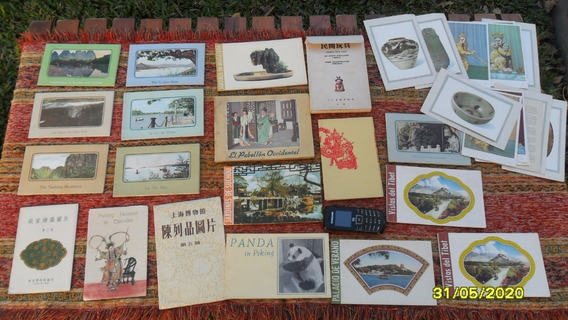 Lote Antiguas Tarjetas Postales Imagenes Orientales Apro 250