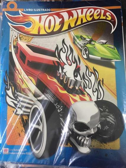 Álbum De Figurinhas Hot Wheels