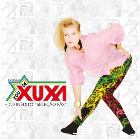 Coleção Xou Da Xuxa + Cd Inédito - Cd Infantil