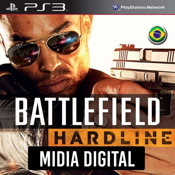 Ps3 - Battlefield Hardline + 2 Dlcs* Bf Dublado