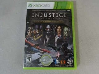 Injustice Gods Among Us Ultimate Edition Xbox 360 Oferta