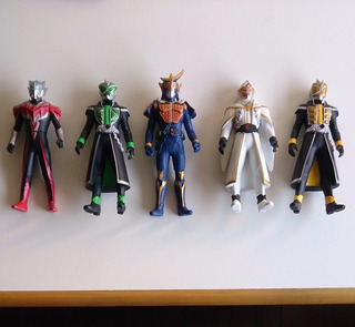 Ultraman Kamen Rider Gaim Wizard White Green Land Style