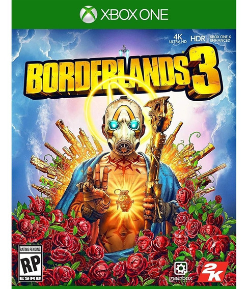 Borderlands 3 Xbox One Mídia Física Novo Lacrado Original