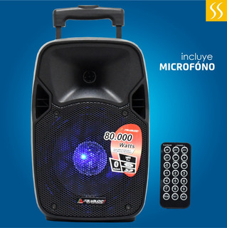 Caja Amplificada Italy Audio 8 Bateria Recargable Garantia