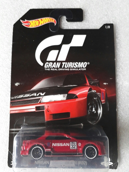 Hot Wheels Gran Turismo Escala 1:64 Nissan Skyline Gt-r R32