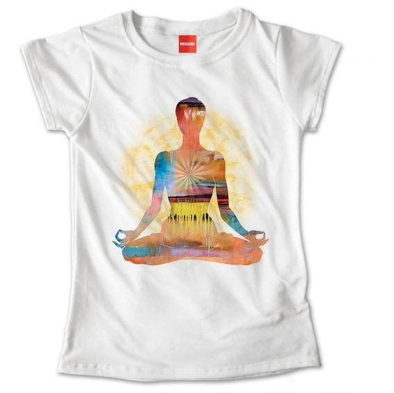 Blusa Dama Yoga Namaste Flor De Loto Colores Playera #746