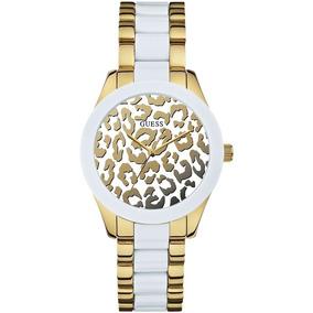 Relógio Guess Feminino Analógico 92514lpgsda1 W0344l1 Guess