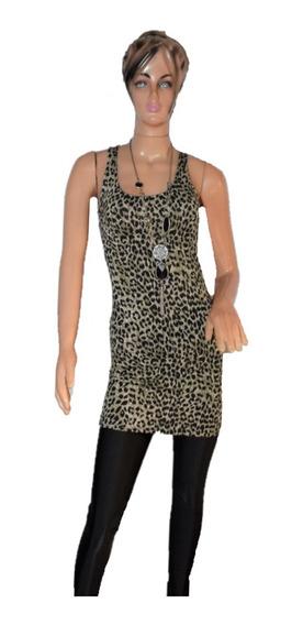 47 Street Vestido Print Espalda Descubierta