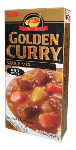 Imagen 1 de 2 de Golden Curry Sauce Mix Hot Picante Japones