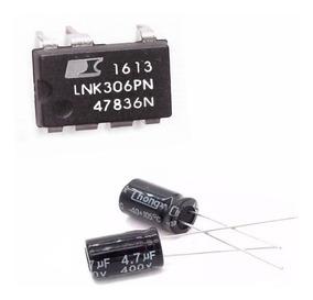50 Ci Lnk306pn Original + 50 Capacitor 4,7v X 400v