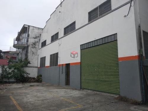 Imagem 1 de 12 de Galpão Para Aluguel, Taboão - São Bernardo Do Campo/sp - 86664