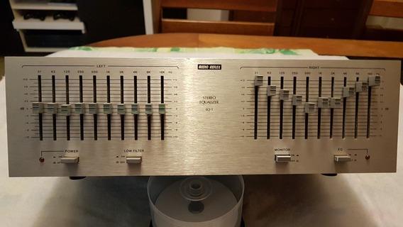 Equalizador Audio Reflex Eq1 - Raro E Em Ótima Conservação