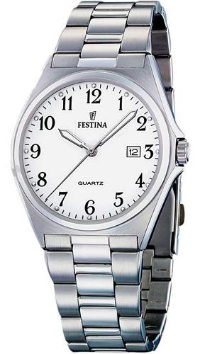 Reloj Festina Clásico Hombre Con Números F16374 Sumergible