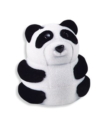 Estuche Para Joyeria Panda, Caja Para Aretes