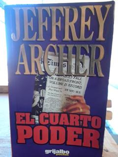 Libro El Cuarto Poder, De Jeffrey Archer