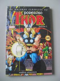 Os Maiores Clássicos Poderoso Thor Volume 1 Panini - Rav73
