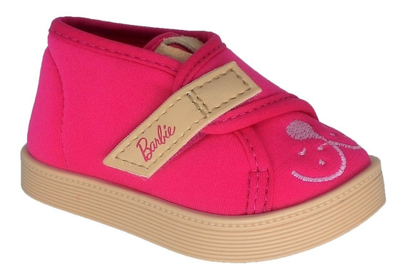 Tênis Infantil Feminino Barbie Fashion Pet Grendene 21779