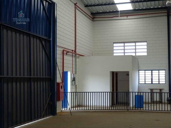 Galpão Industrial Para Locação, Cascata, Paulínia. - Ga0228