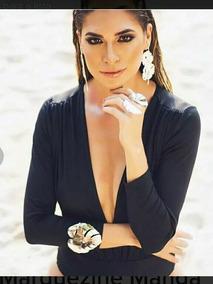 Body Feminino Bruna Marquezine Lon..