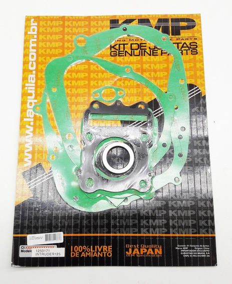 Kit Jogo De Juntas Motor Completo Susuki Intruder 125 Kmp