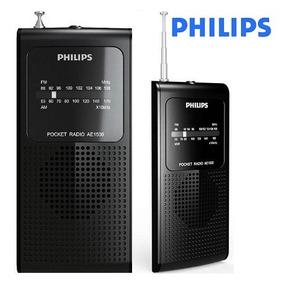 Rádio Am Fm Antena Retrátil Philips Original Alto Alcance