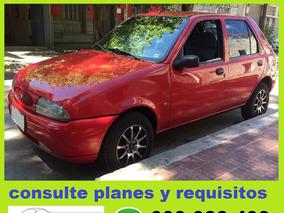 Ford Fiesta 99 Full 100% Financiado 48 De $ 5600 Por Mes