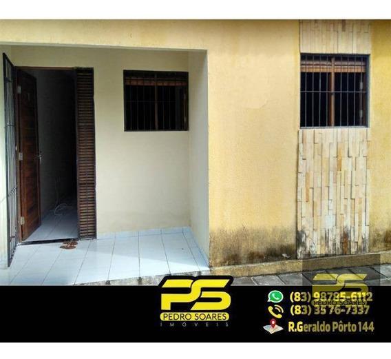 ( Oferta ) Casa C/ 2 Quartos Sendo 1 Suíte No Valentina - Ca0165