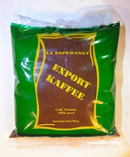 Café La Esperanza Descafeinado 500g Molido Chiapas Verde