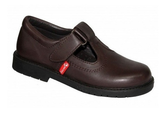 Zapatos Colegiales Escolares De Cuero Marcel Del 27 Al 41
