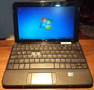 Netbook Hp Mini 110 Intel Atom 1gb Ddr2 160gb Hdd Windows 7