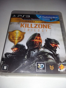 Killzone Trilogy Para Ps3 Original, Midia Fisica, 3 Jogos