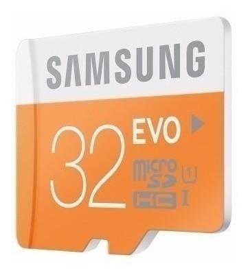 Cartão De Memória 32gb Samsung +1 Adaptador E Frete Grátis