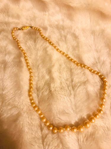 Imagen 1 de 4 de Collar Antiguo Perlas Hecho En Japón