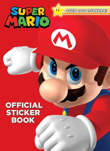 Libro Super Mario Official Sticker Book (nintendo)