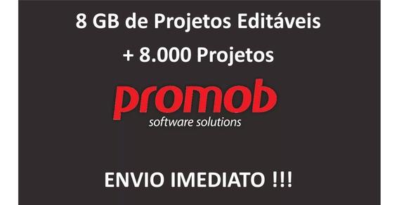 Mega Pack Promob + 8.000 Projetos Editáveis Para Promob