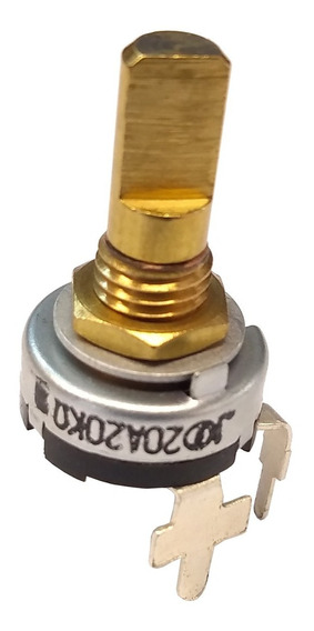 Kit C/ 5 X Potenciometros De Volume P/ Rádio Vertex Vx-2500