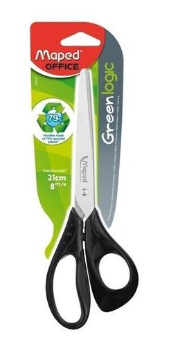 Imagen 1 de 2 de Tijera De Oficina | 21cm | Maped | Essentials Green