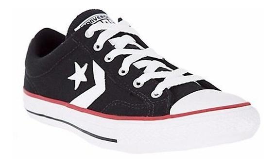 Zapatilla Converse Star Player Ox Negro 157006c
